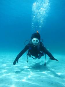 1日体験ダイビング 午前の部