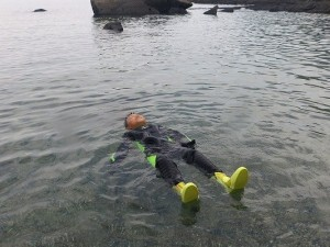 まずは、水に浮かんでリラックスタイム 7/5 in Yakushima