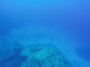 透明度40mオーバー☆水面近くから水深40m超の砂地がはっきり見えます♪