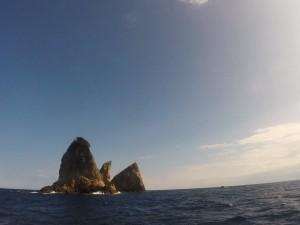 硫黄島近くのダイビングポイント 湯瀬