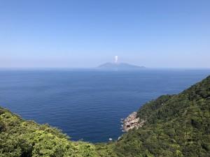口永良部島、今日は噴火してました。
