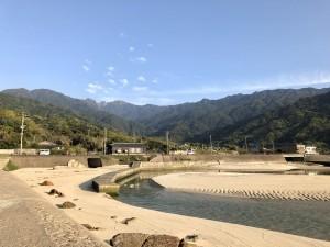 永田岳の見える景色