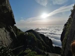 朝の雲海。一緒に登ったメンバーが撮影した写真です。