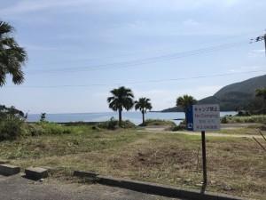 お盆前ということで、海水浴場周りの草刈ボランティア。
