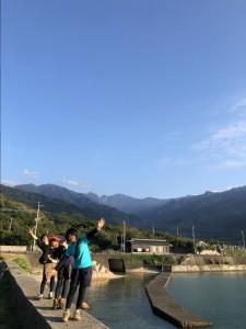 永田岳と記念撮影☆2日間ありがとう!また遊びに来てね♪