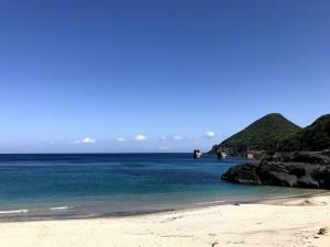 一湊海水浴場ビーチ。